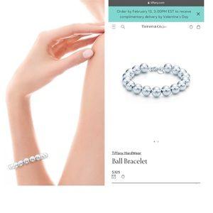 Tiffany & Co. Jewelry - Tiffany & Co sterling Silver 925 ball bracelet.